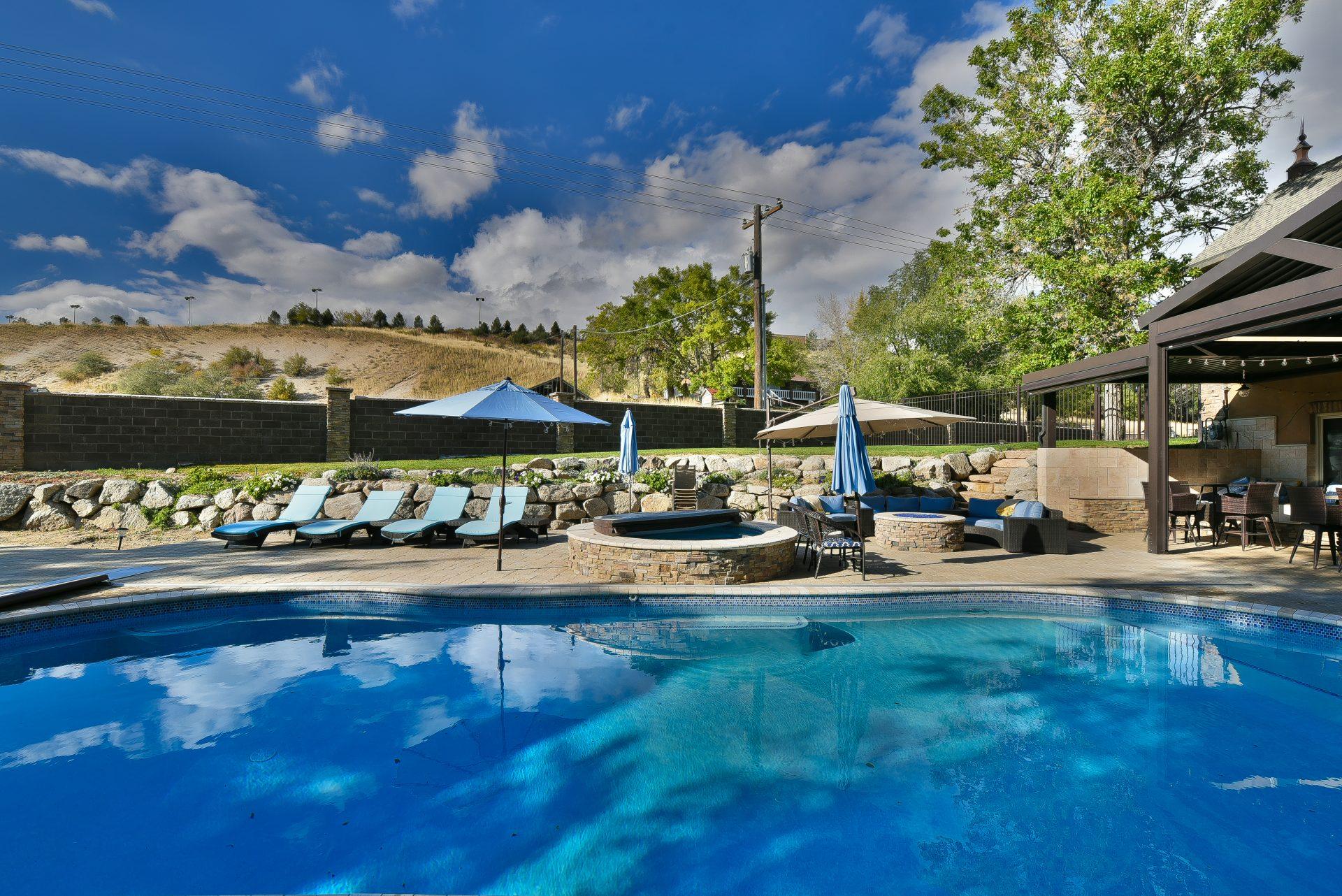 CCHC Backyard Pool
